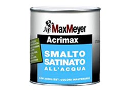 Acrimax all'acqua satinato di MaxMeyer