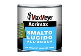Acrimax all'acqua lucido di MaxMeyer